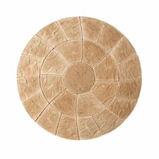 Kelkay Abbey Twist Circle Paving Kit 2.4m - York Gold