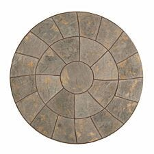 Kelkay Abbey Twist Circle Paving Kit 2.4m - Antique Gold