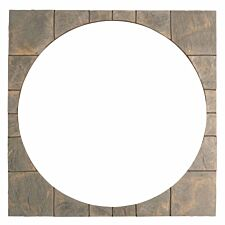 Kelkay Abbey Circle Squaring Off Paving Kit 2.4m - Antique Grey