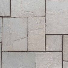 Kelkay Natural Sandstone Patio Kit 10.2m - Lakefell Grey