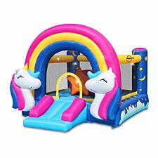 Happy Hop Unicorn Hit Me Inflatable Play Centre
