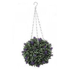 Faux Decor Lavander Topiary Ball