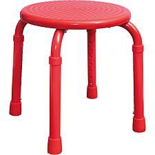 Aidapt Multi-Purpose Adjustable Stool - Red