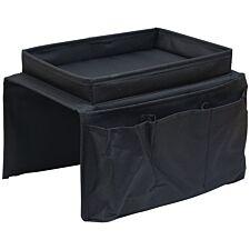 Aidapt Arm Rest Organiser - Black