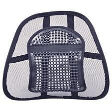Aidapt Air Flow Lumbar Support Cushion - Black