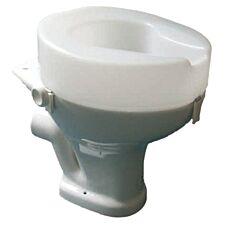 Aidapt Ashby Raised Toilet Seat - White