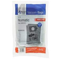 Qualtex Paper Bags Numatic Henry - Pack of 5