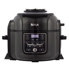 Ninja OP300UK Foodi 6L Electric Multi Pressure Cooker & Air Fryer - Grey & Black