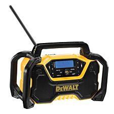Dewalt DCR029 Compact Bluetooth Radio 240V & Li-ion Bare Unit - Black & Yellow