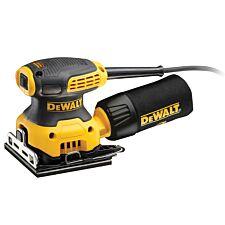 Dewalt DWE6411 1/4 Sheet Palm Sander 230W 240V - Black & Yellow