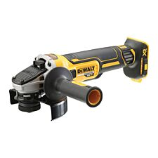 Dewalt DCG405N 18V XR Brushless Grinder 125mm Bare Unit - Black & Yellow