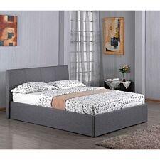 Fusion Fabric Storage Single Bed Grey