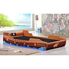 Caribbean Pirate Ship Bed Single