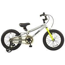 """DeNovo Asteroid 16"""" Wheel Unisex Mountain Bike - Silver"""