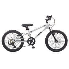 "DeNovo Terra 18"" Wheel Unisex Mountain Bike - Silver"