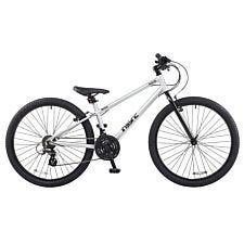 "DeNovo Booster 26"" Wheel Unisex Mountain Bike - Silver"