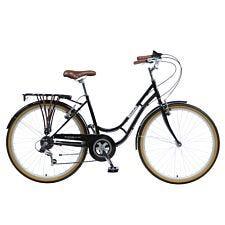"""Viking Westminster 18"""" Ladies Traditional 6 Speed Bike - Black"""