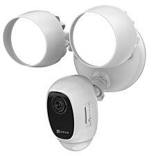 EZVIZ LC1C 10180P Smart Security Floodlight Camera with Active Defence - White