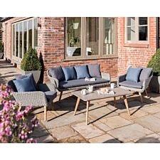Norfolk Leisure Midori Outdoor Lounge Set - Grey