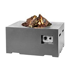 Happy Cocooning Rectangular Cocoon Fire Pit - Grey