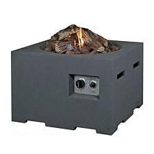 Happy Cocooning Square Cocoon Fire Pit - Grey