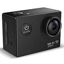 Mixx Action Camera AC10 with Mounting Accessories - Black
