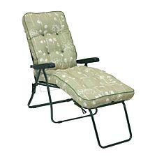 Glendale Deluxe Renaissance Sage Lounger Chair - Green