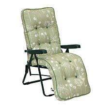 Glendale Deluxe Renaissance Sage Relaxer Chair - Green