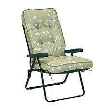 Glendale Deluxe Renaissance Sage Recliner Chair - Green