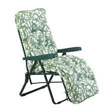Glendale Deluxe Cotswold Leaf Relaxer Chair - Green