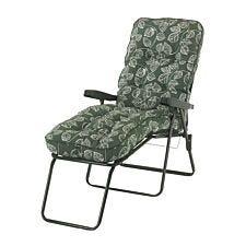 Glendale Deluxe Aspen Leaf Lounger Chair - Green