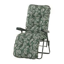 Glendale Deluxe Aspen Leaf Relaxer Chair - Green