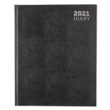 Ryman Quarto Diary Week to View 2021 - Black