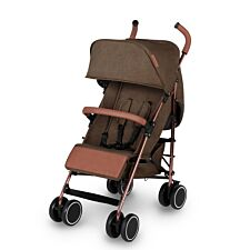 Ickle Bubba Discovery Stroller - Khaki on Rose Gold