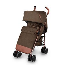 Ickle Bubba Discovery Max Stroller - Rose Gold on Khaki
