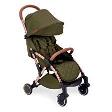Ickle Bubba Globe Stroller - Khaki on Rose Gold