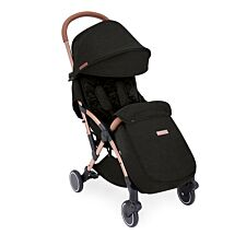 Ickle Bubba Globe Max Stroller - Black on Rose Gold