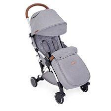 Ickle Bubba Globe Max Stroller - Grey on Silver
