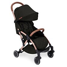 Ickle Bubba Globe Prime Stroller - Black on Rose Gold