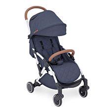 Ickle Bubba Globe Prime Stroller - Denim Blue on Silver