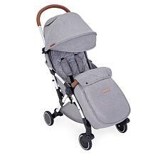 Ickle Bubba Globe Prime Stroller - Grey on Silver