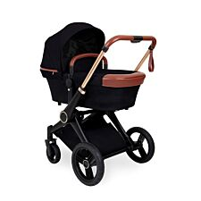 Ickle Bubba Aston Rose 2 in 1 Carrycot & Pushchair - Black