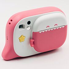 Creacam Instant Camera with 2 Packs of Paper - Pink