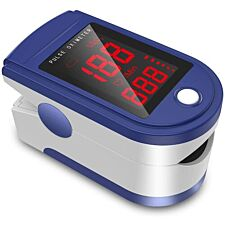 Pulse Oximeter - Blue & White