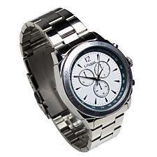 Lifemax Chonograph Style Atomic Talking Watch - Silver
