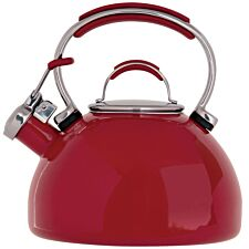 Prestige Red Stove Top Kettle - 2L