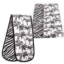 Beau & Elliot Madagascar Tea Towel & Double Oven Glove Set