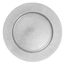 Charger Plate - Silver