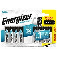 Energizer Max Plus AA Batteries 8 Pack