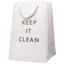 Sabichi Keep It Clean Laundry Bag - White